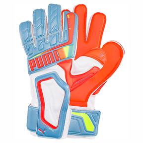 Puma evoSpeed 3.2 Soccer Goalkeeper Glove (Blue/Peach)