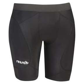 Reusch Padded Compression Soccer Goalkeeper Shorts