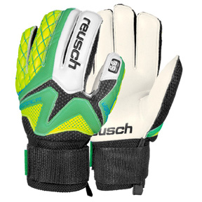 Reusch Youth Waorani  Ortho Tec SG Glove (Green/Yellow)