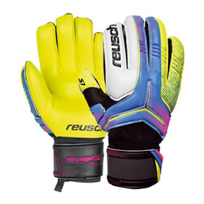 Reusch Re:ceptor Prime S1 FS Glove (Yellow/Pink/White)