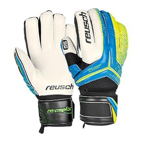 Reusch Re:ceptor SG Finger Glove (Blue/Yellow)