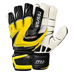 Reusch Magno Deluxe M1 Ortho Tec Goalkeeper Glove (Yellow)
