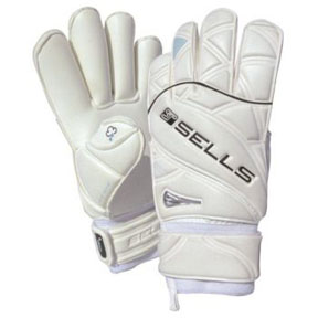 Sells Elite Wet Grip Aqua Glove (White/White)