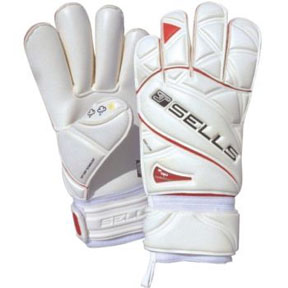 Sells Wrap Elite Tough Hardground Soccer Goalkeeper Glove