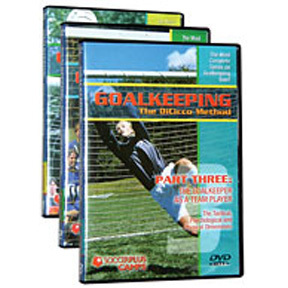 Soccer DVD: Goalkeeping - The DiCicco Method (3 Disc Set)
