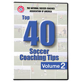 Soccer DVD: NSCAA Top 40 Soccer Coaching Tips Volume 2