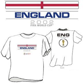 England WC2002 Cup Tee