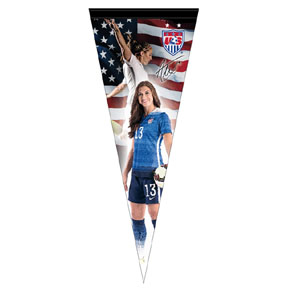 Alex Morgan (USWNT) USA Womens Soccer Pennant