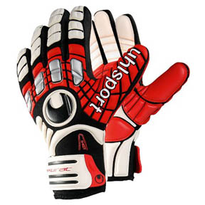 Uhlsport Akkurat AbsolutGrip Soccer Goalkeeper Glove