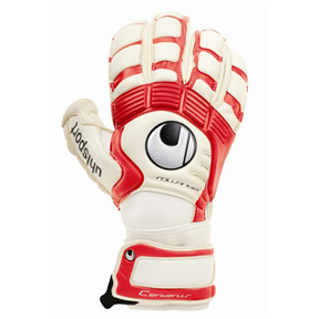 Uhlsport Cerberus AbsolutGrip RollFinger Soccer Goalkeeper Glove