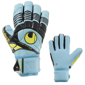 Uhlsport Eliminator Absolutgrip HN Soccer Goalkeeper Glove (Ice)