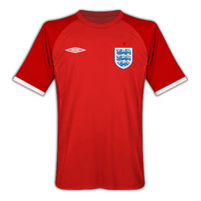Umbro England Soccer Jersey (Away 2010/11)