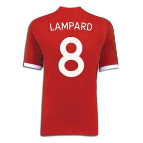 Umbro England Lampard #8 Soccer Jersey (Away 2010/11)