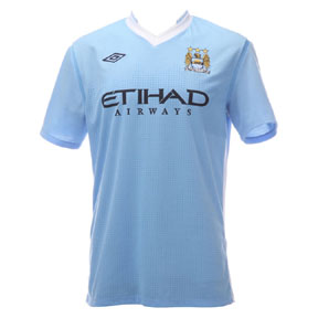 Umbro  Manchester City Soccer Jersey (Home 2011/12)