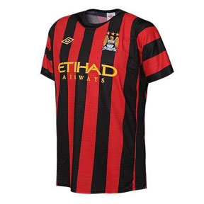 Umbro Manchester City Soccer Jersey (Away 2011/12)
