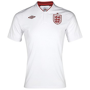 Umbro England Soccer Jersey (Home 2012/13)