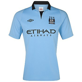 Umbro Manchester City Soccer Jersey (Home 2012/13)