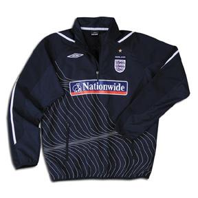 Umbro England 1/4 Zip Soccer Training Top
