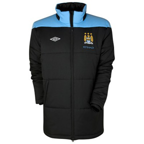 Umbro  Manchester City Padded Soccer Jacket