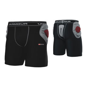 Under Armour Eliminate MPZ Padded Soccer Goalkeeper Short