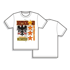 Utopia Germany World Cup 2014 Champions Soccer Tee