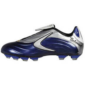 Valsport Era FG Soccer Shoes (Blue/Silver)