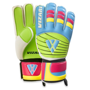 Vizari Rio FRF Soccer Goalkeeper Gloves (Multicolor)