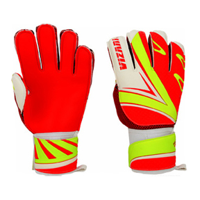 Vizari Palmar FRF Soccer Goalkeeper Gloves (Red/Yellow)