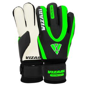 Vizari Pro Keeper FRF Soccer Goalkeeper Gloves (Black/Green)