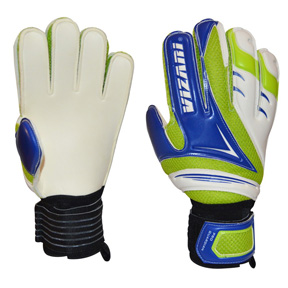 Vizari Pro Guardian FP Soccer Goalkeeper Gloves (White/Blue)