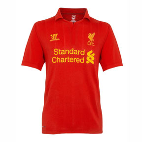 Warrior Youth Liverpool Soccer Jersey (Home 2012/13)