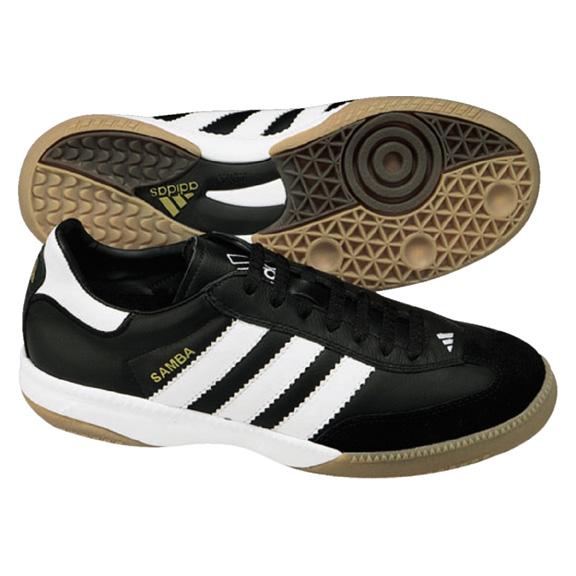 adidas samba millenium indoor soccer shoes black white