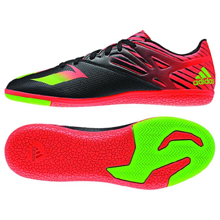 adidas lionel messi 153 indoor soccer shoes blackred