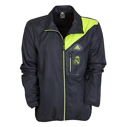 adidas real madrid soccer training jacket 2010 11. Black Bedroom Furniture Sets. Home Design Ideas