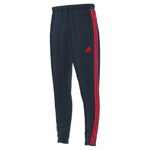 Adidas Tiro 13 Soccer Training Pant Gray Solar Red