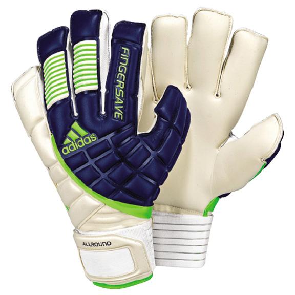 Adidas Goalkeeper Gloves Fingersave Allround Adidas Fingersave Allr...