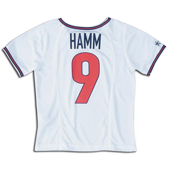 2a4c6111872 Nike Youth Mia Hamm  9 USA Soccer Jersey (Home)   SoccerEvolution ...