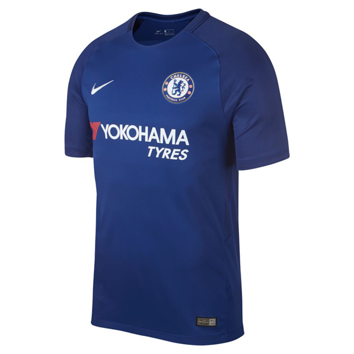 Nike chelsea soccer jersey home 17 18 soccerevolution for Unique home stays jersey