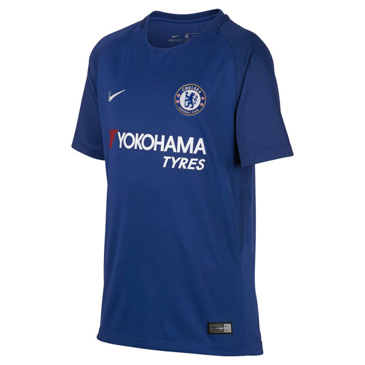 Nike youth chelsea soccer jersey home 2017 18 for Unique home stays jersey
