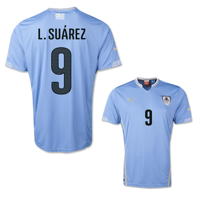 aff8d636d1e ... sale luis suarez uruguay away jersey fifa world cup brazil 2014 click  here to view larger