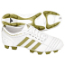 adidas Womens adiNova TRX FG Soccer Shoes (White/Gold)