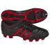 adidas Womens adiNova TRX FG Soccer Shoes (Black/Scarlet)