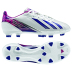adidas Womens F10 TRX FG Soccer Shoes (White/Ink/Pink)