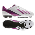 adidas Womens F5 TRX FG Soccer Shoes (White/Pink)