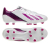 adidas Womens F10 TRX FG Soccer Shoes (White/Pink)