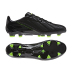 adidas  F50  adiZero  Leather TRX FG Soccer Shoes (Black/Electricity)