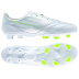 adidas  F50  adiZero  Leather TRX FG Soccer Shoes (White/Yellow)