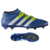adidas  ACE 16.2 PrimeMesh FG/AG Soccer Shoes (Blue/Green)