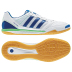 adidas FreeFootball Top Sala Indoor Soccer Shoes (White/Blue)