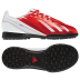 adidas Youth  Lionel Messi F5 TRX Turf Soccer Shoes (White/Orange)